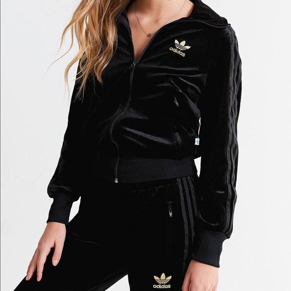 Adidas Firebird Velour Sweatsuit | Poshmark